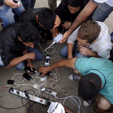 Il cellulare dell'immigrato